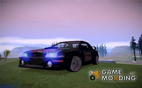 Subaru Impreza 22B Suicide Squad для GTA San Andreas