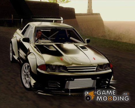 Nissan Skyline GTR R32 Rocket Bunny для GTA San Andreas