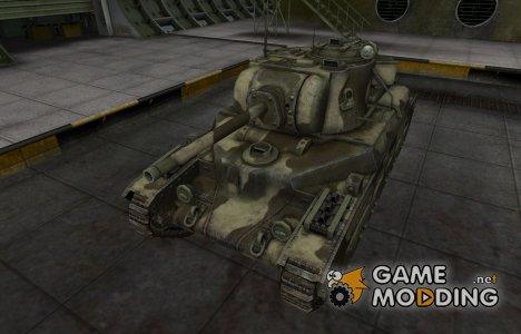Пустынный скин для Матильда IV для World of Tanks