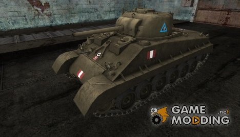 Sherman M4A2E4 for World of Tanks