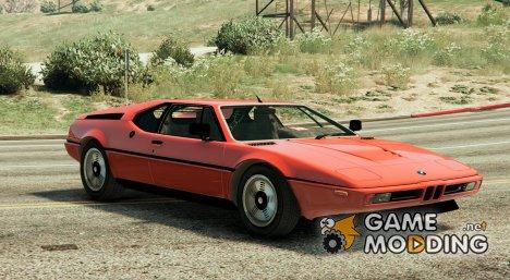 BMW M1 1979 (E26) 1.9.1 для GTA 5