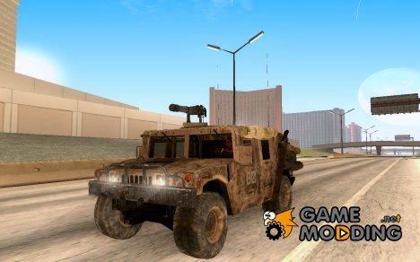 Hummer H1 из COD MW 2 v2 для GTA San Andreas