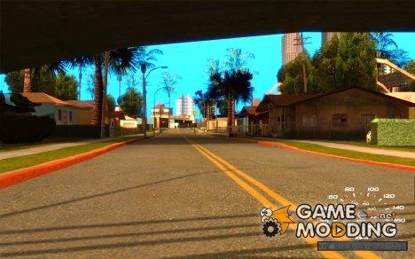 Многофункциональный Спидометр для GTA San Andreas