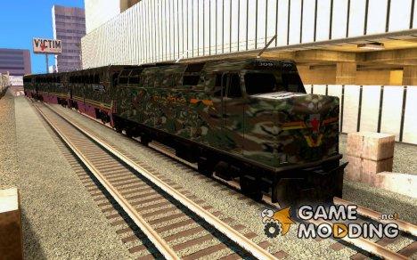Камуфляжный поезд for GTA San Andreas