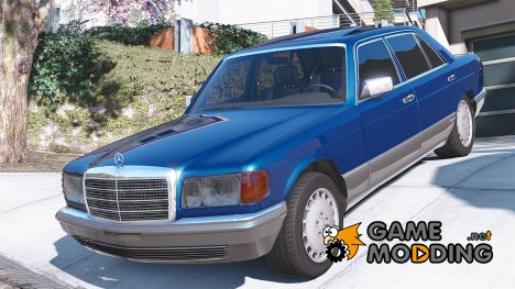1990 Mercedes-Benz 560sel w126 1.1a for GTA 5