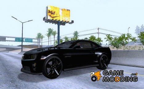 2012 Chevrolet Camaro ZL1 (ver.1) for GTA San Andreas