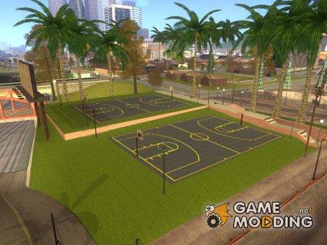 Обновлённая баскетбольная площадка for GTA San Andreas
