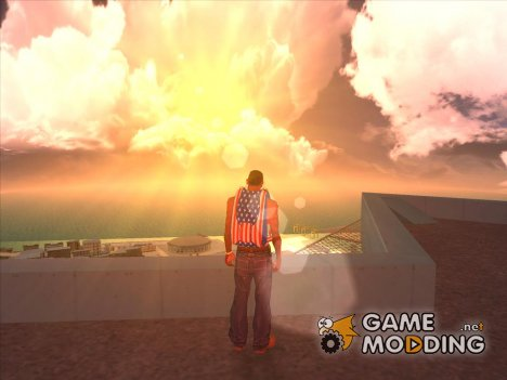 Skybox and Lensflare для GTA San Andreas