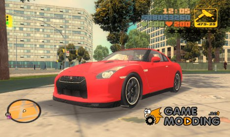 "Nissan GT-R Spec-V ""Black Revel"" для GTA 3"