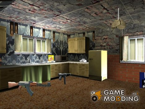 Новая кухня в доме Cj for GTA San Andreas
