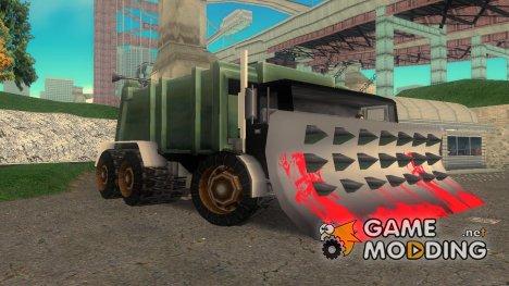 Crazy Tuned Trashmaster for GTA 3