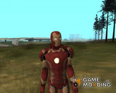 Железный человек mark 43 v2 для GTA San Andreas