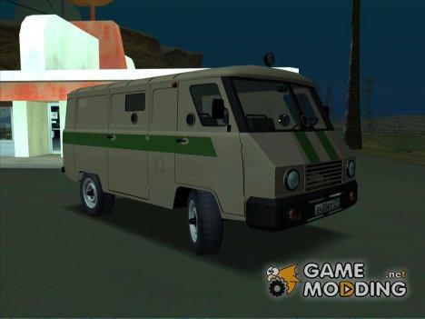 УАЗ 39099 Бронированный для GTA San Andreas