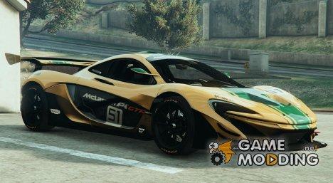 McLaren P1-GTR HQ 1.3 для GTA 5