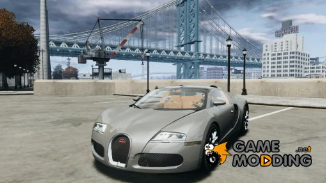 2009 Bugatti Veyron Grand Sport [EPM] для GTA 4