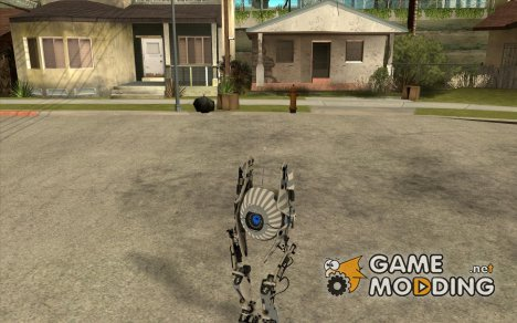 Robot из Portal 2 №1 for GTA San Andreas