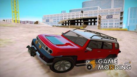 GTA V Karin Beejay XL для GTA San Andreas