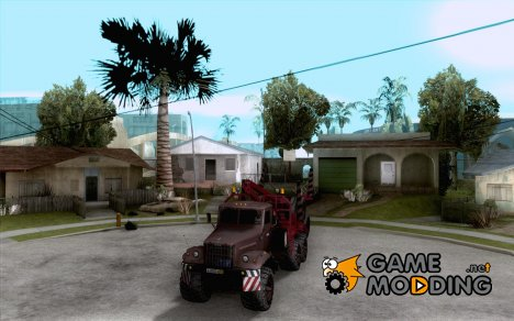 КрАЗ-255 Лесовоз for GTA San Andreas