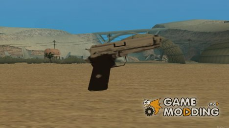 Silver Colt 1911 for GTA San Andreas