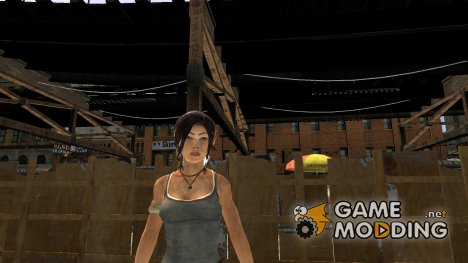 Lara Croft v.2	   для GTA 4