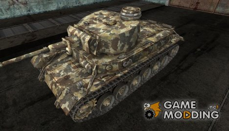 "Шкурка для VK3001(P) ""Woodland"" для World of Tanks"