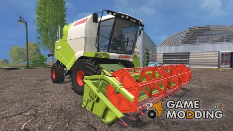 Claas Tucano 320 для Farming Simulator 2015