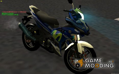 Yamaha Exciter 150cc Movistar Edition for GTA San Andreas