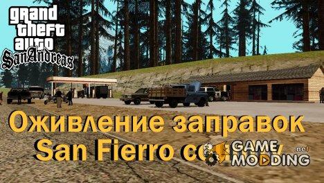 Оживление заправок San Fierro country for GTA San Andreas