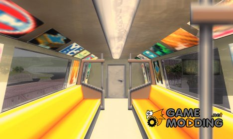 Новая камера в поезде for GTA 3