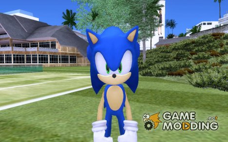 Sonic The Hedgehog(GTA Sonic IV Mod) для GTA San Andreas