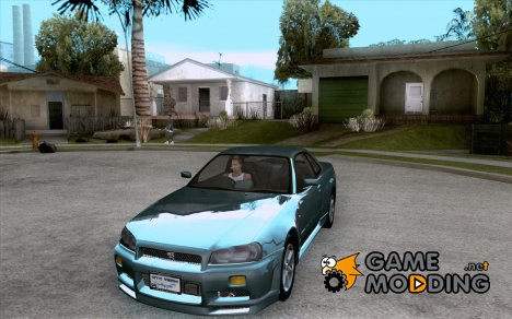 Nissan Skyline R34 Tunable for GTA San Andreas