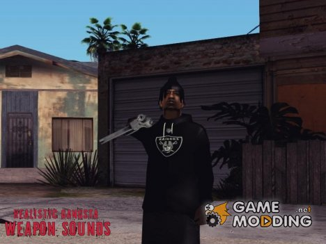 Realistic Gangsta Weapon Sounds for GTA San Andreas