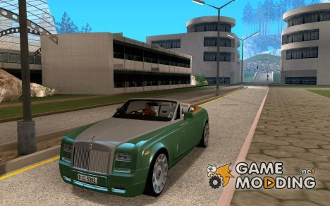 Rolls-Royce Phantom Series II Drophead Coupe 2012 для GTA San Andreas