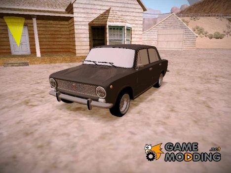 ВАЗ 2101 Slammed Orange для GTA San Andreas