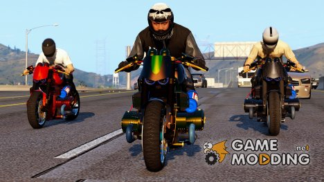 BMW R 1100R Naked Custom 2.0 для GTA 5