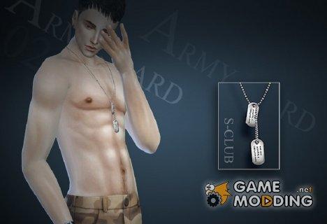 Кулон M02 для Sims 4