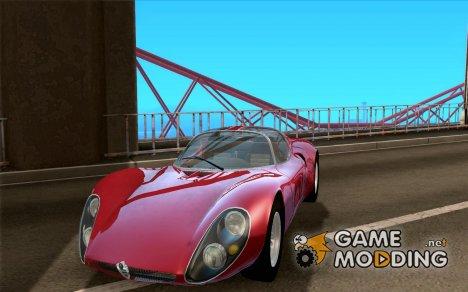 Alfa Romeo Tipo 33 Stradale for GTA San Andreas