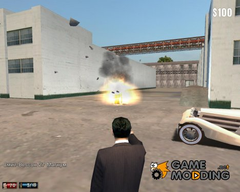 Barel explosion mod для Mafia: The City of Lost Heaven