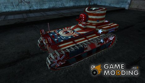 T1 Cunningham от demole для World of Tanks