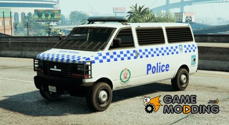 NSW Police Transport для GTA 5