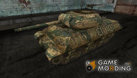 шкурка для M10 Wolverine №16 for World of Tanks
