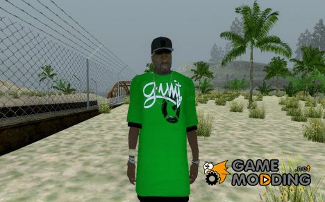 The 50 cent Mod: Curtis Jackson 2011 для GTA San Andreas