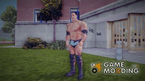 Dwayne The Rock Johnson для GTA 3