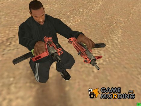 Micro Uzi Grunge для GTA San Andreas