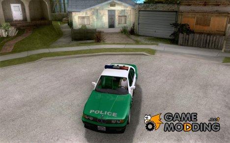 BMW 535i E34 Police for GTA San Andreas