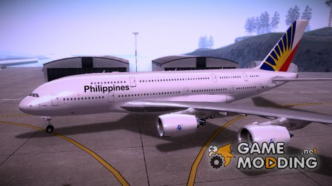 Airbus A380-800 Philippine Airlines for GTA San Andreas
