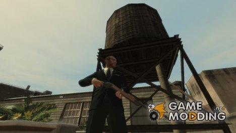 """Ружьё """"Winchester 1887"""" для GTA 4"""