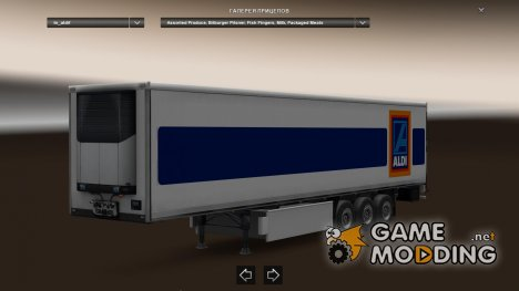 Aldi Logistics (International) Trailer для Euro Truck Simulator 2