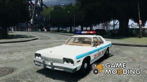 Dodge Monaco 1974 Police v1.0 for GTA 4