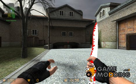 Christmas Knife для Counter-Strike Source